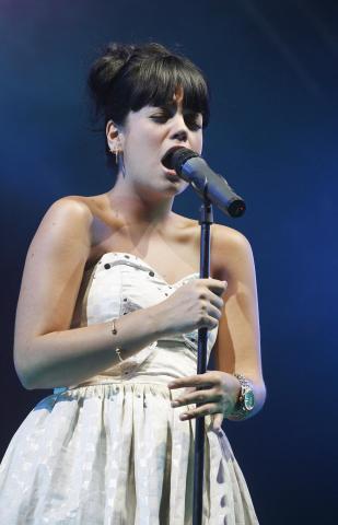 Lily Allen - Londra - Lily Allen è stata eletta Glamour Women of the Year