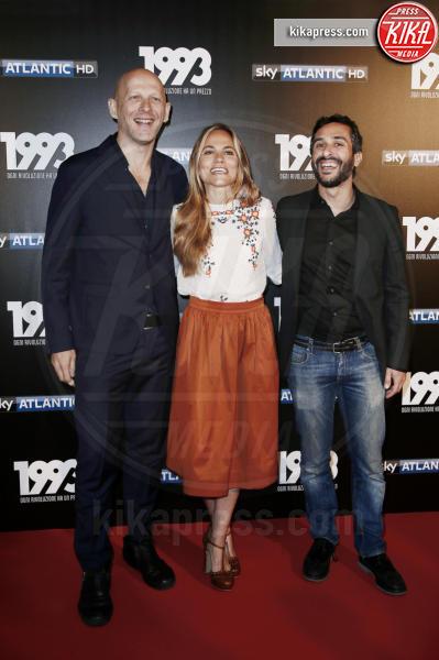 Alessandro Fabbri, Stefano Sardo, Ludovica Rampoldi - Milano - 11-05-2017 - 16 maggio: riparte su Sky 1993 Ogni rivoluzione ha un prezzo
