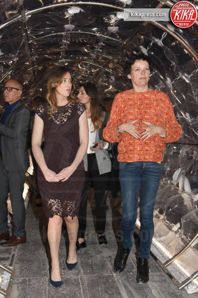 Maria Elena Boschi - Venezia - 13-05-2017 - Maria Elena Boschi, dark lady alla Biennale di Venezia