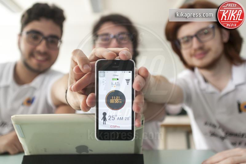 Vincenzo Marino, Alessandro Fonti, Maria Roggio - Catania - 12-05-2017 - Nasce Cool Skin: l'app per non scottarsi al sole