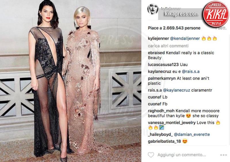 Kendall Jenner, Kylie Jenner - 15-05-2017 - Valentina Ferragni nuova star di Instagram: mi manda Chiara