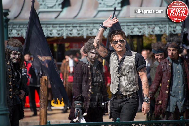 Johnny Depp - Parigi - 14-05-2017 - Johnny Depp fa causa al The Sun per diffamazione