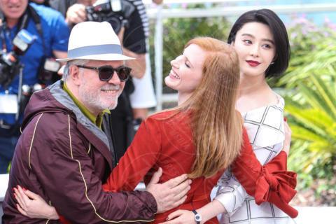 Fan Bing Bing, Jessica Chastain, Pedro Almodovar - Cannes - 17-05-2017 - Cannes 2017, le immagini della prima giornata