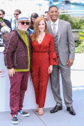 Jessica Chastain, Pedro Almodovar, Will Smith - Cannes - 17-05-2017 - Cannes 2017, le immagini della prima giornata