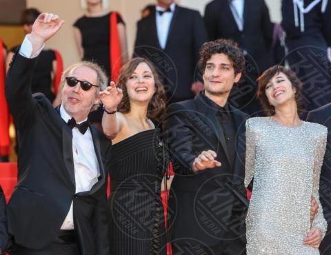 Arnaud Desplechin, Louis Garrel, Charlotte Gainsbourg, Marion Cotillard - Cannes - 17-05-2017 - Cannes 2017, le immagini della prima giornata