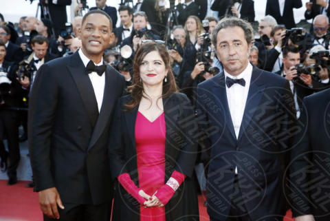 Agnes Jaoui, Paolo Sorrentino, Will Smith - Cannes - 17-05-2017 - Cannes 2017: scollature, spacchi e trasparenze sul red carpet