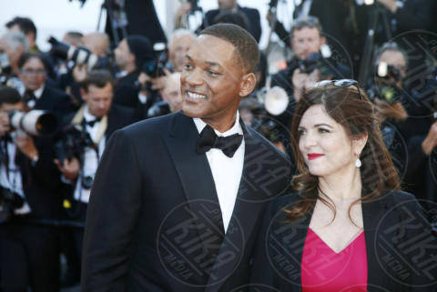 Agnes Jaoui, Will Smith - Cannes - 17-05-2017 - Cannes 2017: scollature, spacchi e trasparenze sul red carpet