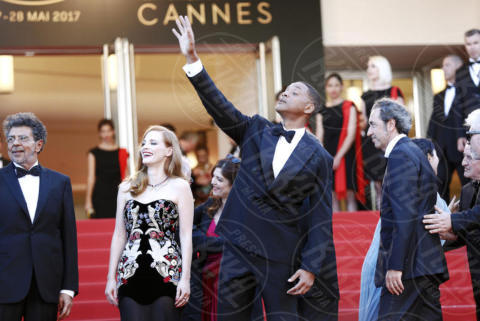 Jessica Chastain, Will Smith - Cannes - 17-05-2017 - Cannes 2017: scollature, spacchi e trasparenze sul red carpet