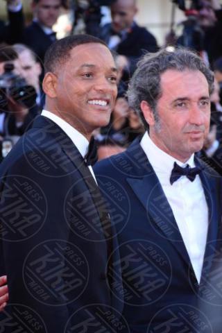 Paolo Sorrentino, Will Smith - Cannes - 17-05-2017 - Cannes 2017, le immagini della prima giornata