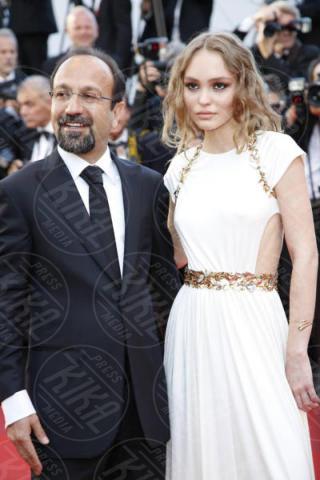 Asghar Farhadi  Lily-Rose Depp - Cannes - 17-05-2017 - Cannes 2017, le immagini della prima giornata
