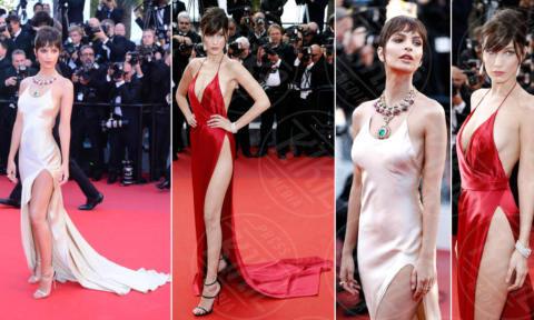 Bella Hadid, Emily Ratajkowski - Cannes - 17-05-2017 - Emily Ratajkowski-Bella Hadid: chi è la più sexy?