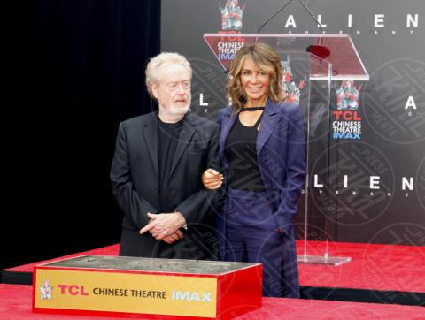 Giannina Facio, Ridley Scott - Los Angeles - 17-05-2017 - Hanno preso le impronte a Ridley Scott, parola di Harrison Ford