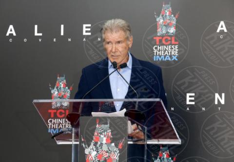 Harrison Ford - Los Angeles - 17-05-2017 - Hanno preso le impronte a Ridley Scott, parola di Harrison Ford