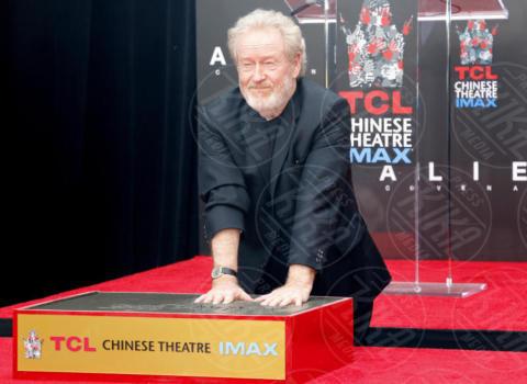 Ridley Scott - Los Angeles - 17-05-2017 - Hanno preso le impronte a Ridley Scott, parola di Harrison Ford