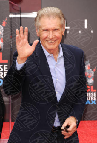 Harrison Ford - Hollywood - 17-05-2017 - Hanno preso le impronte a Ridley Scott, parola di Harrison Ford