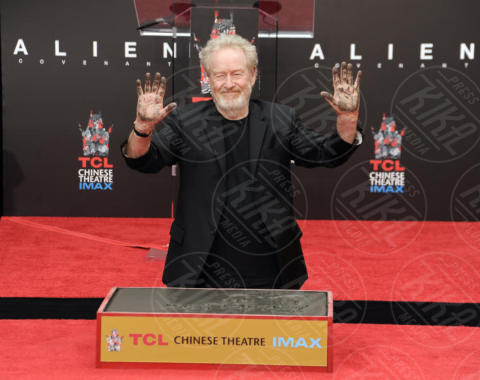 Ridley Scott - Hollywood - 17-05-2017 - Hanno preso le impronte a Ridley Scott, parola di Harrison Ford