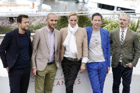 Karel Och, Joachim Lafosse, Mohamed Diab, Reda Kateb, Uma Thurman - Cannes - 18-05-2017 - Cannes 2017: ecco la giuria della sezione Un certain Regard