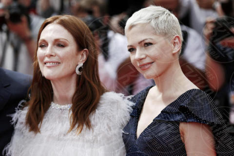 Michelle Williams, Julianne Moore - Cannes - 18-05-2017 - Cannes 2017: Michelle Williams e Julianne Moore per Wonderstruck