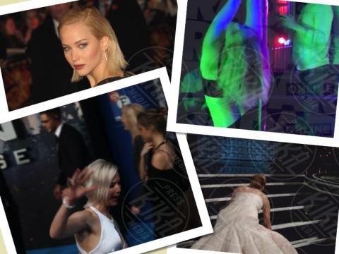 Jennifer Lawrence seminuda e ubriaca balla la pole dance