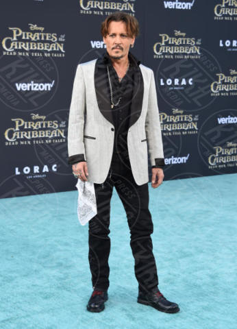 Johnny Depp - Hollywood - 18-05-2017 - Sparrow is back! A Hollywood la prima de I Pirati dei Caraibi 5