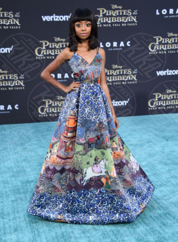 Skai Jackson - Hollywood - 18-05-2017 - Sparrow is back! A Hollywood la prima de I Pirati dei Caraibi 5