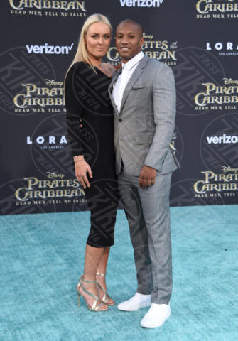 Kenan Smith, Lindsey Vonn - Hollywood - 18-05-2017 - Sparrow is back! A Hollywood la prima de I Pirati dei Caraibi 5
