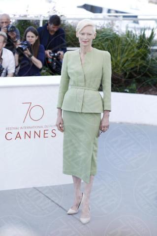 Tilda Swinton - Cannes - 19-05-2017 - Cannes 2017: Tilda Swinton e Lily Collins al photocall di Okja