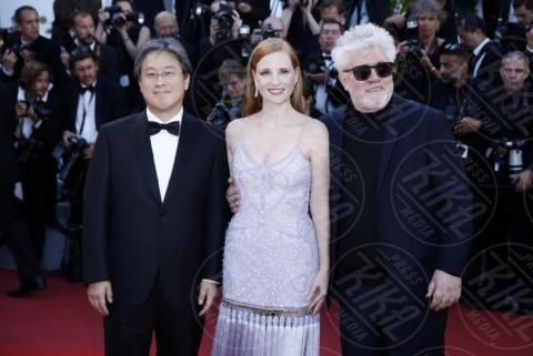 Park Chan-Wook, Jessica Chastain, Pedro Almodovar - Cannes - 19-05-2017 - Cannes 2017: è Rihanna la più sexy di tutte
