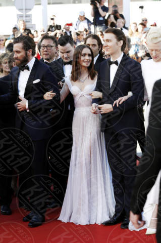 Paul Dano, Lily Collins, Jake Gyllenhaal - Cannes - 19-05-2017 - Cannes 2017: è Rihanna la più sexy di tutte