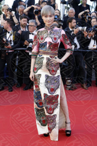 Li Yuchun - Cannes - 19-05-2017 - Cannes 2017: sul red carpet lo spacco spacca!