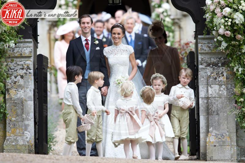 Principe George, James Matthews, Pippa Middleton - Englefield - 20-05-2017 - George e Charlotte tra paggetti e damigelle: le foto più belle