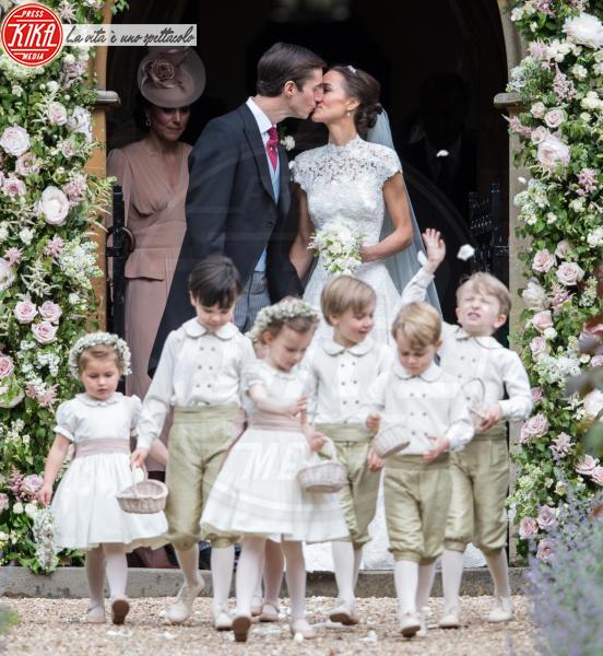 Principessa Charlotte Elizabeth Diana, Principe George, James Matthews, Kate Middleton, Pippa Middleton - Englefield - 20-05-2017 - Arrestato per stupro il suocero di Pippa Middleton