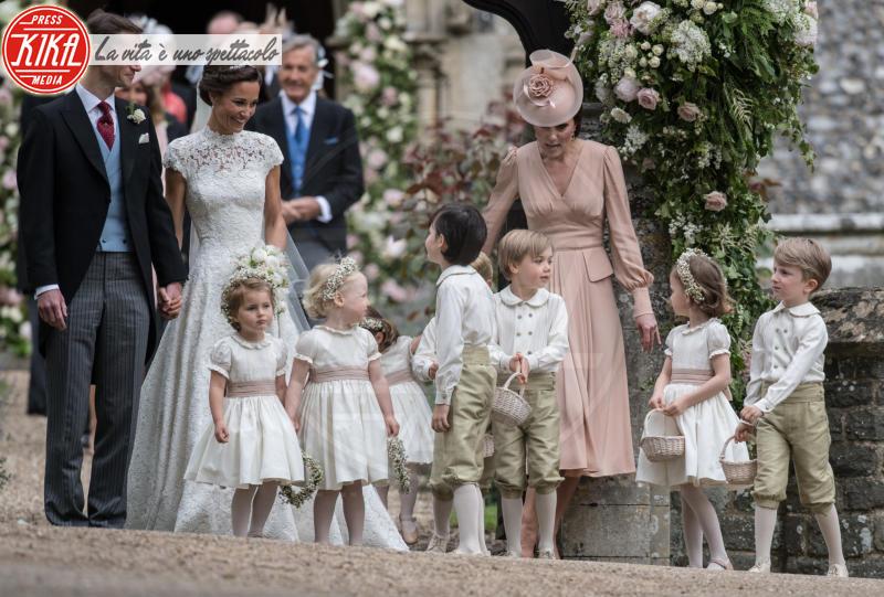 Principessa Charlotte Elizabeth Diana, Principe George, James Matthews, Kate Middleton, Pippa Middleton - Englefield - 20-05-2017 - George e Charlotte tra paggetti e damigelle: le foto più belle