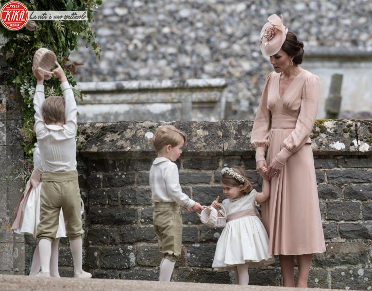 Principessa Charlotte Elizabeth Diana, Principe George, Kate Middleton - Englefield - 20-05-2017 - Pippa Middleton si sposa: le foto della cerimonia