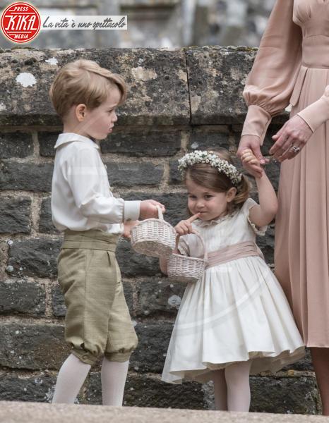 Principessa Charlotte Elizabeth Diana, Principe George - Englefield - 20-05-2017 - Pippa Middleton si sposa: le foto della cerimonia
