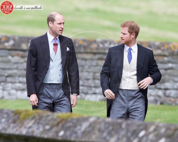 Principe William, Principe Harry - Englefield - 20-05-2017 - Pippa Middleton si sposa: le foto della cerimonia