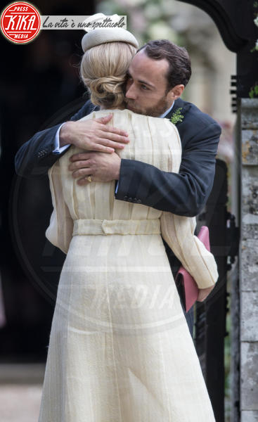 James Middleton, Donna Air - Englefield - 20-05-2017 - Pippa Middleton si sposa: le foto della cerimonia