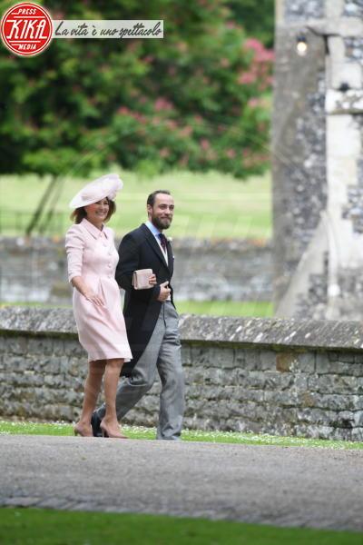 James Middleton, Carole Middleton - Englefield - 20-05-2017 - Pippa Middleton si sposa: le foto della cerimonia