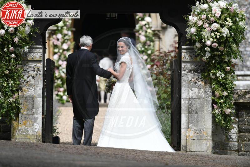 Michael Middleton, Pippa Middleton - Englefield - 20-05-2017 - Pippa Middleton si sposa: le foto della cerimonia