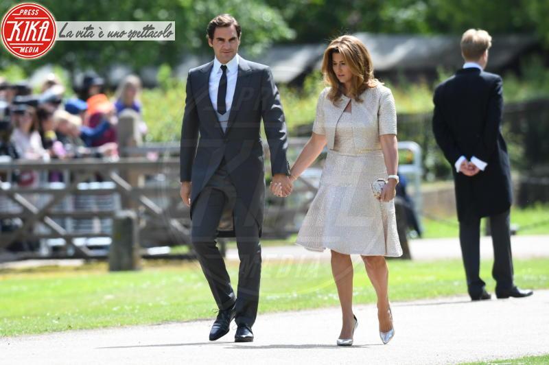 Roger Federer - Englefield - 20-05-2017 - Pippa Middleton si sposa: le foto della cerimonia