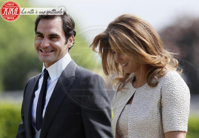 Mirka Federer, Roger Federer - Englefield - 20-05-2017 - Pippa Middleton si sposa: le foto della cerimonia