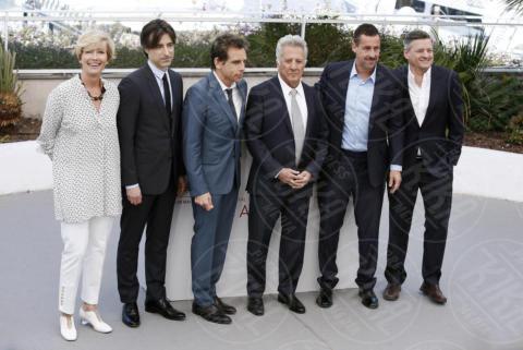 Ted Sarandos, Noah Baumbach, Emma Thompson, Ben Stiller, Adam Sandler, Dustin Hoffman - Cannes - 21-05-2017 - Cannes 2017: è il momento di Meyerowitz Story e Netflix