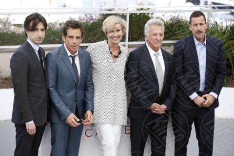 Noah Baumbach, Emma Thompson, Ben Stiller, Adam Sandler, Dustin Hoffman - Cannes - 21-05-2017 - Cannes 2017: è il momento di Meyerowitz Story e Netflix