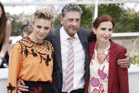 Margaret Mazzantini, Jasmine Trinca, Sergio Castellitto - Cannes - 21-05-2017 - Cannes 2017: l'Italia si presenta con Fortunata di Castellitto