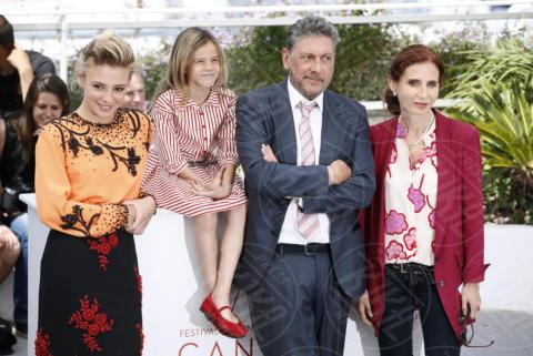 Nicole Centanni, Margaret Mazzantini, Jasmine Trinca, Sergio Castellitto - Cannes - 21-05-2017 - Cannes 2017: l'Italia si presenta con Fortunata di Castellitto