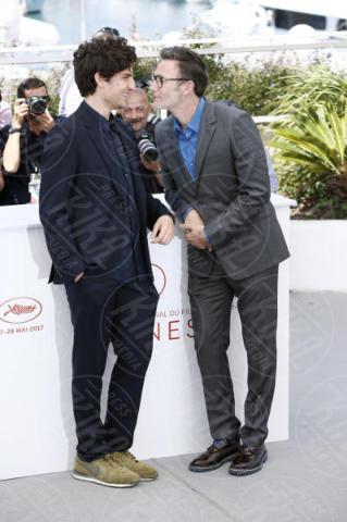 Michel Hazanavicius, Louis Garrel - Cannes - 21-05-2017 - Cannes 2017: Hazanavicius racconta Godard con Le Redoutable