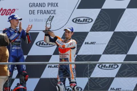 Maverik Vinales, Dani Pedrosa - Le Mans - 21-05-2017 - Le Mans: vince Vinales dopo la caduta di Rossi