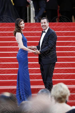 Jackie Sandler, Adam Sandler - Cannes - 21-05-2017 - Cannes: l'eleganza di Nicole Kidman, il sideboob di Elle Fanning
