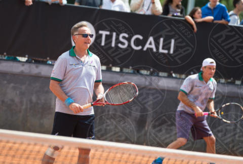 Paolo Bonolis - Roma - 20-05-2017 - Paolo Bonolis e Clarence Seedorf tennisti per una buona causa