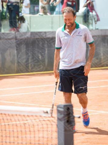 Dario Marcolin - Roma - 20-05-2017 - Paolo Bonolis e Clarence Seedorf tennisti per una buona causa